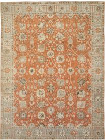 Antique Persian Tabriz Carpet, No. 23423 - Galerie Shabab
