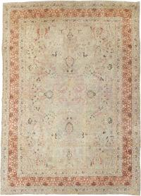 Antique Persian Mashad Carpet, No. 23426 - Galerie Shabab
