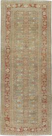 Antique Mahal Runner, No. 23453 - Galerie Shabab
