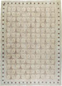 Antique Kashan Carpet, No. 23545 - Galerie Shabab