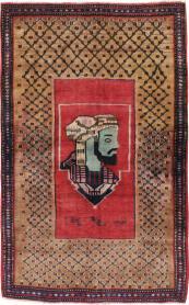 Antique Hamadan Rug, No. 23635 - Galerie Shabab