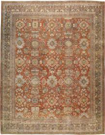 Antique Mahal Carpet, No. 23693 - Galerie Shabab