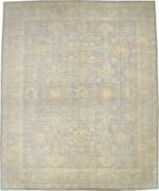 Oushak Carpet, No. 23802 - Galerie Shabab