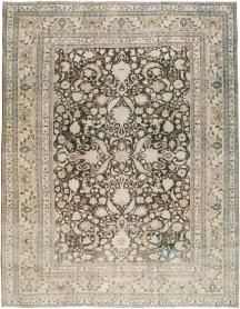 Antique Mashad Carpet, No. 23869 - Galerie Shabab