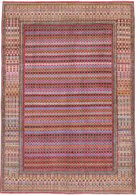Vintage Mashad Modernist Carpet, No. 23914 - Galerie Shabab