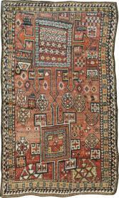 Antique Anatolian Rug, No. 23922 - Galerie Shabab