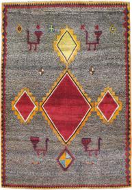 Vintage Gabbeh Rug, No. 23928 - Galerie Shabab