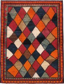 Vintage Gabbeh Rug, No. 23929 - Galerie Shabab