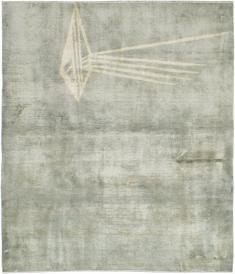 Vintage Mashad Modernist Rug, No. 23966 - Galerie Shabab