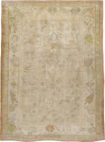Antique Oushak Carpet, No. 23978 - Galerie Shabab