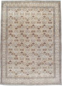 Antique Mashad Carpet, No. 24005 - Galerie Shabab