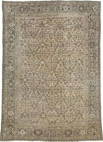 Antique Perisan Mahal Carpet, No. 24017 - Galerie Shabab