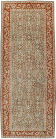 Antique Persian Mahal Gallery Carpet, No. 24019 - Galerie Shabab
