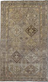 Antique Persian Shiraz Carpet, No. 24060 - Galerie Shabab