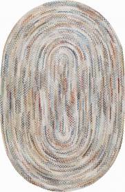 Vintage Braid Rug, No. 24106 - Galerie Shabab