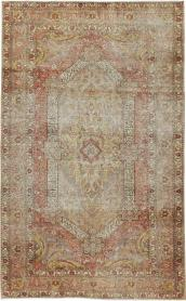 Antique Distressed Sivas Rug, No. 24121 - Galerie Shabab