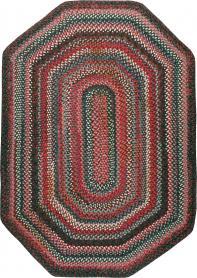Vintage Braid Rug, No. 24209 - Galerie Shabab