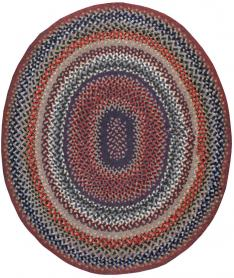 Vintage Braid Rug, No. 24365 - Galerie Shabab