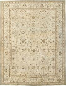 Antique Persian Tabriz Carpet, No. 24379 - Galerie Shabab