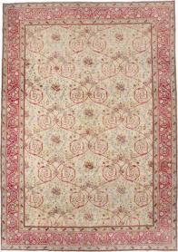 Antique Persian Sarouk Carpet, No. 24433 - Galerie Shabab