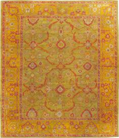 Vintage Oushak Turkish Carpet, No. 24476 - Galerie Shabab