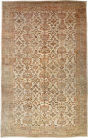 Antique Turkish Oushak Carpet, No. 24509 - Galerie Shabab