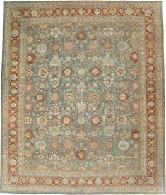 Antique Persian Mahal Carpet, No. 24722 - Galerie Shabab