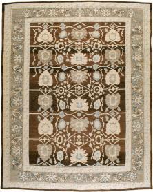 Modern Oushak Carpet, No. 24751 - Galerie Shabab