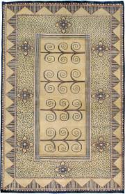 Vintage Indian Rug, No. 24834 - Galerie Shabab