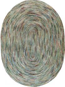 Vintage American Braid Carpet, No. 24882 - Galerie Shabab