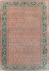Antique Persian Mahal Carpet, No. 25039 - Galerie Shabab