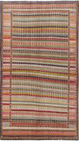 Vintage Kashan Deco Rug, No. 25113 - Galerie Shabab