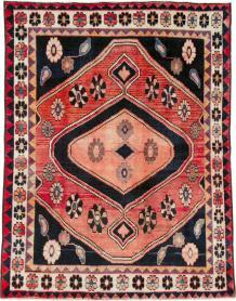Vintage Persian Gabbeh Rug, No. 25203 - Galerie Shabab
