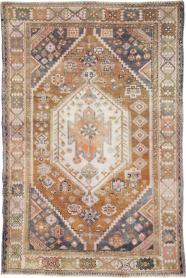 Vintage Bakhtiari Rug, No. 25204 - Galerie Shabab