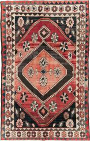 Vintage Persian Gabbeh Rug, No. 25205 - Galerie Shabab