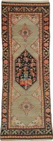 Antique Persian Malayer Pictorial Rug, No. 25572 - Galerie Shabab