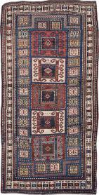 Antique Kazak Rug, No. 25877 - Galerie Shabab