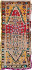 Vintage Persian Hamadan Rug, No. 25921 - Galerie Shabab