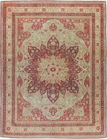 Antique Lahore Carpet, No. 8116 - Galerie Shabab