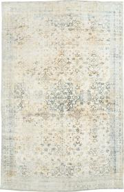 An Agra Cotton Carpet, No. 8142 - Galerie Shabab