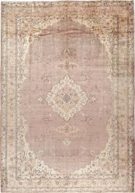 Antique Oushak Carpet, No. 8325 - Galerie Shabab