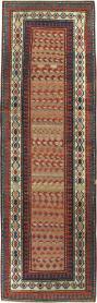Antique Caucasian Kazak Rug, No. 8429 - Galerie Shabab