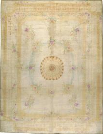 A Kashan Savonnerie Style Carpet, No. 8468 - Galerie Shabab