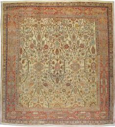A Sultanabad Carpet, No. 8525 - Galerie Shabab