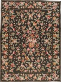 Vintage Needlepoint Carpet, No. 8903 - Galerie Shabab