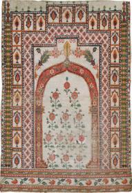 A Cotton Agra Carpet, No. 9058 - Galerie Shabab