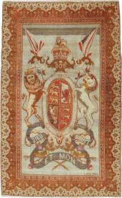 Antique Pictorial Sivas Carpet, No. 9059 - Galerie Shabab