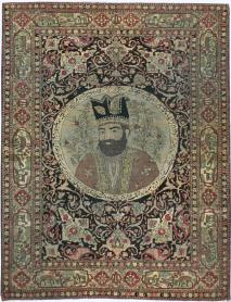An Isfahan Pictorial Carpet, No. 9223 - Galerie Shabab