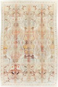 An Agra Cotton Carpet, No. 9569 - Galerie Shabab